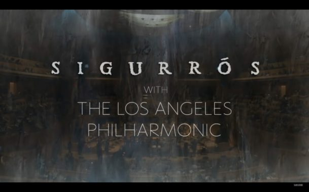 Sigur Rós live from the Walt Disney Concert Hall, with the Los Angeles Philharmonic Association