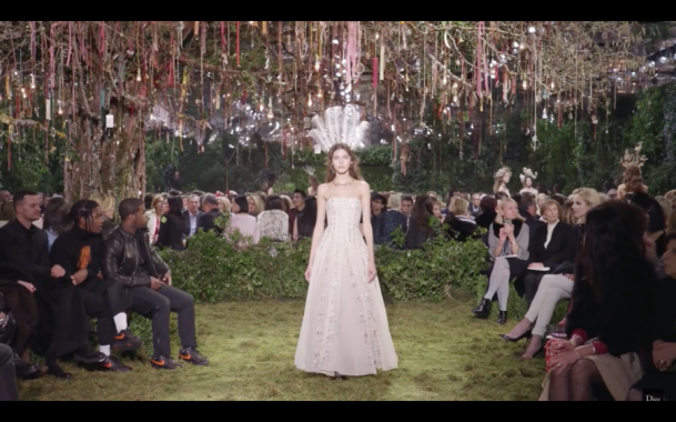 Dior Spring-Summer 2017 Haute Couture show