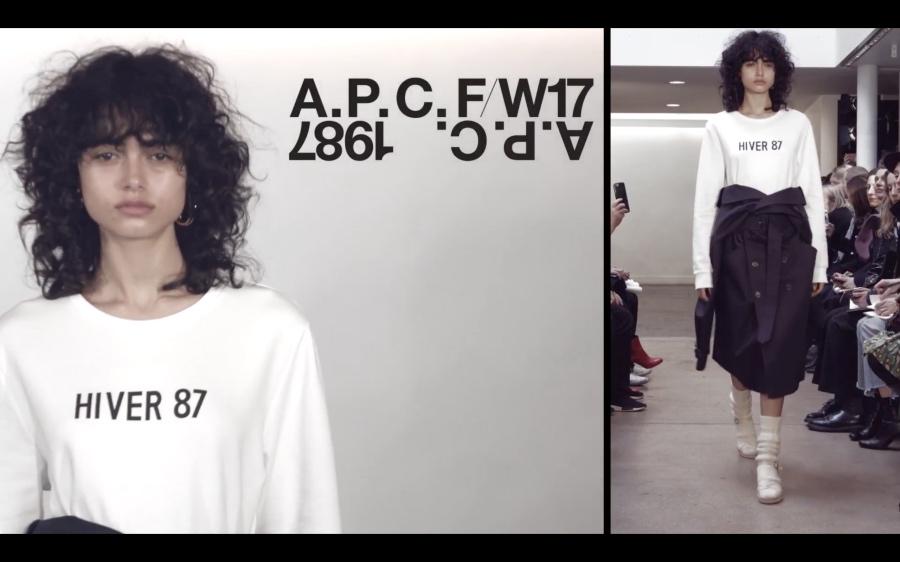 A.P.C. F/W 17 WOMEN'S