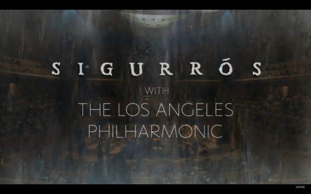 Sigur Rós live from the Walt Disney Concert Hall, with the Los Angeles Philharmonic Association