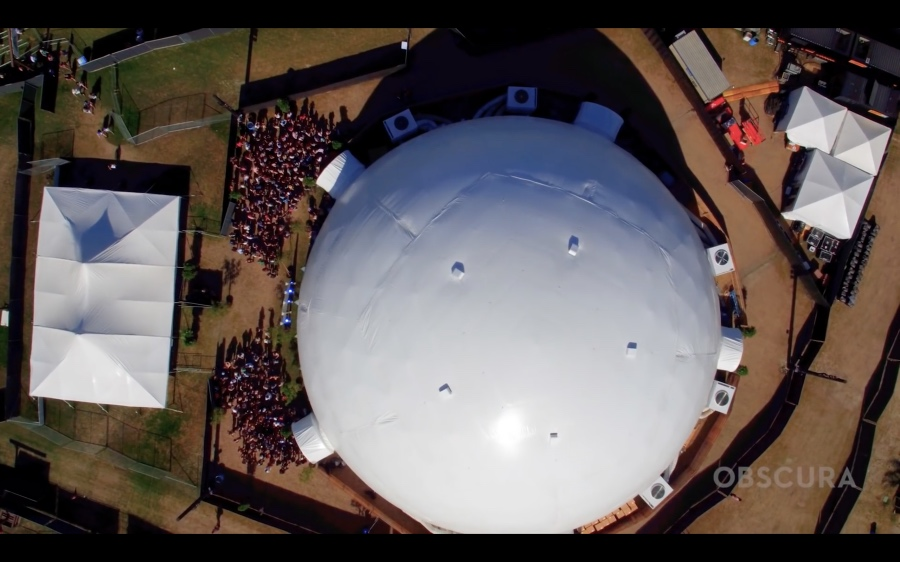 The Antarctic Dome at Coachella 2017 by Obscura Digital